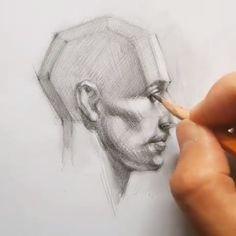 Drawing ideas - Famous Last Words Art Drawings Sketches Simple, Pencil Art Drawings, Easy Drawings, Drawing Ideas, Figure Drawing, Painting & Drawing, Drawing Drawing, Woman Drawing, Drawing People Faces