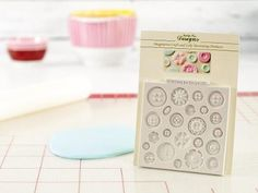 Shop Craftsy's premiere assortment of cake decorating supplies and save! Get the Katy Sue Designs Buttons Design Mat before it sells out. - via @Craftsy