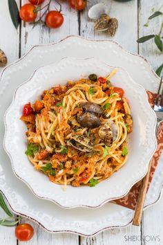 Spaghetti mit Meeresfrüchten ragú Rezept