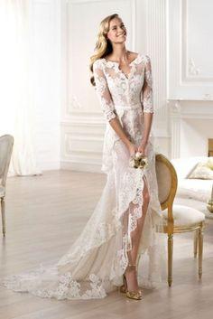 Najpiękniejsze suknie ślubne na wiosnę-lato 2015
