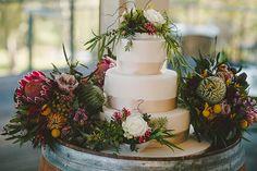 A Nature Inspired, Australian Native Flower Wedding: Kim  Chris