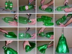 Reusing & recycling plastic bottles keeps waste out of landfills. Try one of these 28 plastic bottle upcycling projects - you'll help protect our planet! Easy Plastic Bottle Crafts, Plastic Bottle Art, Pet Bottle, Recycle Plastic Bottles, Plastic Craft, Plastic Bottle Greenhouse, Diy Crafts For Adults, Ways To Recycle, Reuse