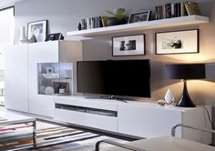 Tv Furniture, Living Room Tv, Ideas Para, Family Room, New Homes, Woodworking, Interior Design, Bedroom, House