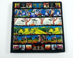 FIMO 50 World project tile from Wendy Jorre de St Jorre, Australia