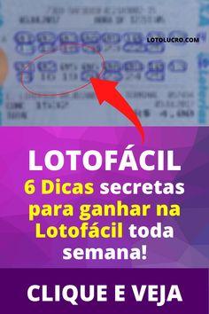 como descobrir o segredo da lotofacil