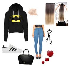 """Super woman"" by larissa-bens on Polyvore featuring mode, adidas, Topshop, Chanel, MICHAEL Michael Kors, women's clothing, women, female, woman en misses"