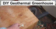 DIY Geothermal Greenhouse – No Supplemental Heat Needed – reThinkSurvival.com Survival Hacks, Urban Survival, Wilderness Survival, Survival Skills, Survival Gear, Surviving In The Wild, Post Date, Disaster Preparedness, Composting