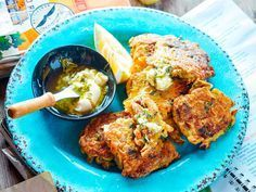 Nici Wickes' delicious mussel fritters recipe is incredibly easy to make and fantastic served with lemon wedges and a herby, creamy mayo sauce. Enjoy for a tasty lunch with friends and family