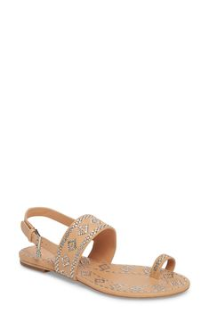 TORY BURCH | Blake Toe Loop Slingback Sandal #Shoes #Sandals #Slides #TORY BURCH