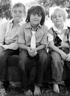 kids.  This is my idea of what a boys shot should look like:)