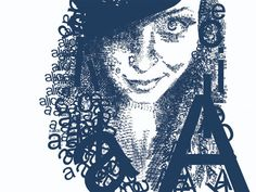 Project 2a - Typographic Portrait #1- Alice