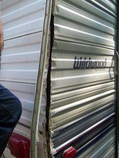 Rv Exterior Door Trim - The last few years have seen an enormous increase in the number of reported burglaries and home inva Vintage Rv, Vintage Trailers, Camping, Camper Flooring, Camper Repair, Retro Campers, Airstream Campers, Remodeled Campers, Vintage Campers