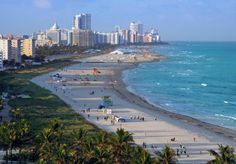 Miami Florida. Still haven't been there out of all my trips to FL! Urban + beach scene sounds good to me!