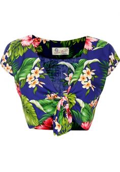 Tara Starlet | Hawaiian Knot Top
