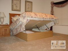 The Original Storage Bed By Lift And Stor | Store More Than Any Other Bed