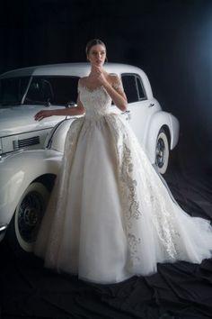 Vestidos De Noiva Sereia Romântico Princesa Manga Longa Vestidos De Casamento O Pescoço Apliques De Renda Igreja Vestidos De Casamento Varredura Trem