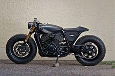 Harley-Davidson Street 750 Cafe Racer by Rajputana Custom #motorcycles #caferacer