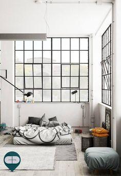 Post Industrial Bedroom ::: On Behance