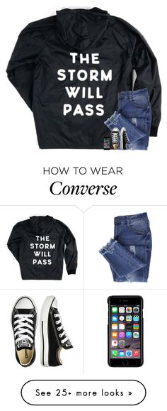 """is everyone okay in Texas? "" by kaitlynbug1226 on Polyvore featuring Essie, Converse and County Of Milan"