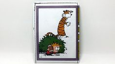 Sewn Comic Book Wallet  Calvin and Hobbes Design 23 by DuctTuff, $14.00