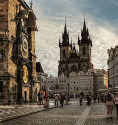 Prague, Czech Republic - By far one of the most fascinating and beautiful cities in the world. Bruce and I can't wait to go back.