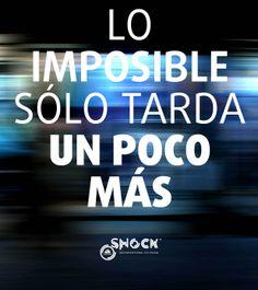 Lo imposible sólo tarda un poco más www.valencianashock.com