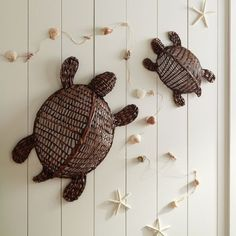 Wicker Turtles