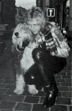Benjamin Orr, circa 1978; from FROZEN FIRE: THE STORY OF THE CARS, page 52