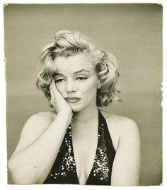 Norma Jean, Not Marilyn: These rarely seen photographs were taken after a session with Richard Avedon at his New York studio in 195