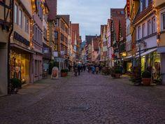 Esslingen Medieval Christmas Market; Near Stuttgart, Germany.