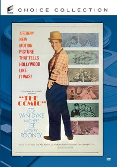 The Comic, starring Dick van Dyke, Michele Lee, Mickey Rooney http://family-friendly-movies.com/comedy/the-comic/
