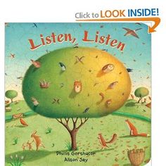 book about sounds outside in all 4 seasons