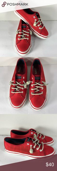 Sperry Seacoast JAWS Sneakers Size 7.5M