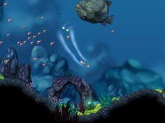 Aquaria [underwater action adventure] http://bit-blot.com/aquaria/