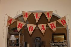 Here's Our Little Life: All Aboard! Party at the Wiggins Depot!