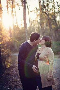 so sweet. couples maternity session