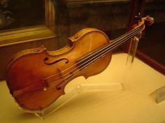 stradivarius violin.  I'll take one of these, please... and lessons to play it.
