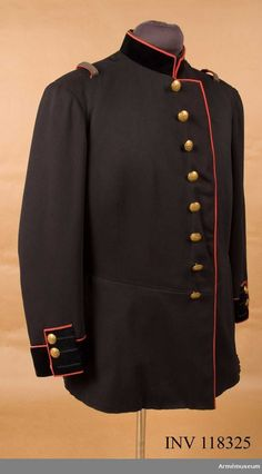 Tunic m/1886 for Officers at the Army Surgeon Corps.