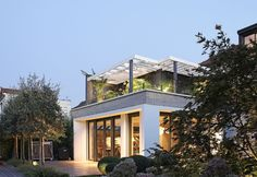 modern extension to old house - Google Search