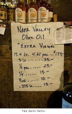 Napa Valley Olive Oil Co.