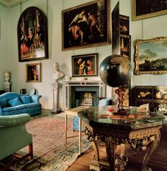 Photos: Houghton Hall's Splendor—and Legendary, Sketch-Filled Guestbook | Vanity Fair