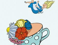 "Check out new work on my @Behance portfolio: ""Tea party"" http://be.net/gallery/60330993/Tea-party"
