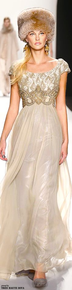 #NYFW Badgley Mischka Fall/Winter 2014 RTW