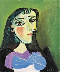 Female Bust, 1937 by Pablo Picasso