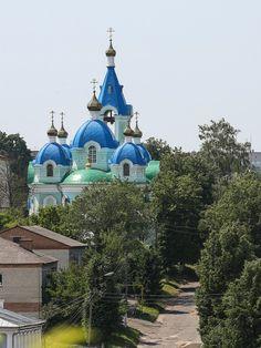 Церковь Вознесения Господня, город Рыльск Курской обл.