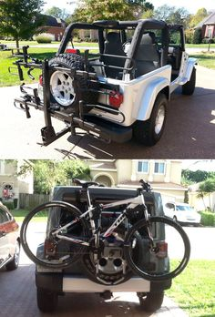 Homemade Kayak/Bike rack finally finished - Jeep Wrangler Forum ...