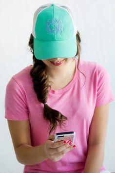 https   www.theprettylittleboutique.com collections monogrammed-hats Custom 68bde7a7a5e2