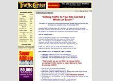 Traffic Center  After 9 months of unsuccessful attempts to make money online WorldProfit has completely turn my fears into hopes. In just less than two weeks as a member I able to make a sale. The training and support given is second to none on the web. Prove me wrong. Stop trying to make money on your own, it will simply not work. Join globalwealthop today and you could be writing one of this