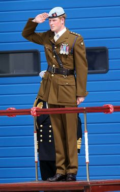 Prince Harry - Plymouth-  August 2013