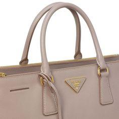 Prada Saffiano Lux Large Double Zip Tote - modaselle Prada Saffiano, Cartier, Designer Handbags, Rolex, Chanel, Louis Vuitton, Zip, Luxury, Couture Bags
